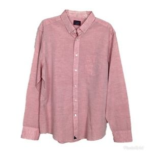 UNTUCKit Linen Blend Button Down Shirt- XL